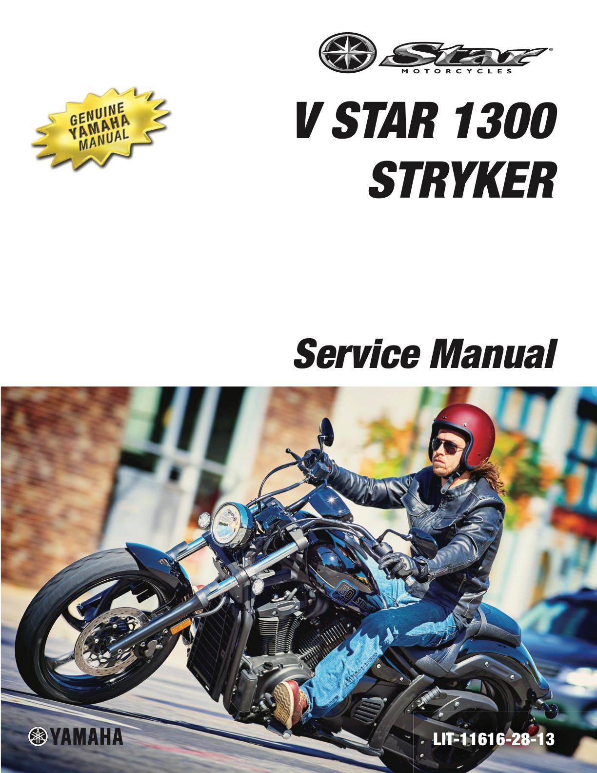 yamaha v star 1300 service manual download