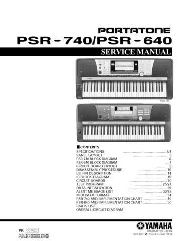 yamaha psr 730 manual pdf