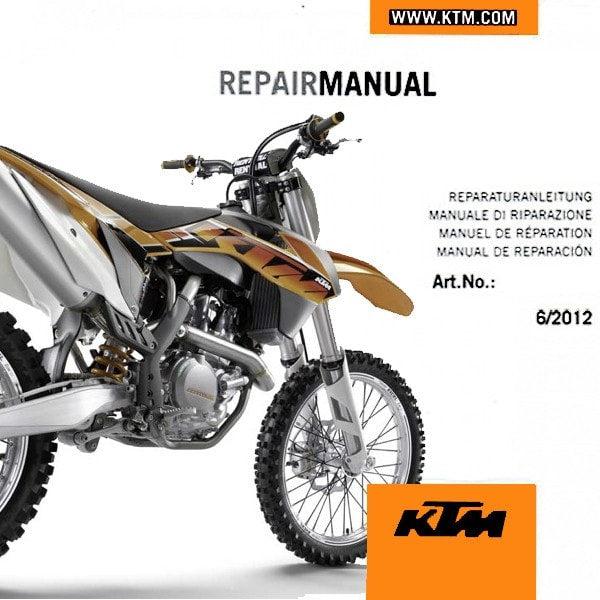 2017 ktm 250 sxf repair manual download