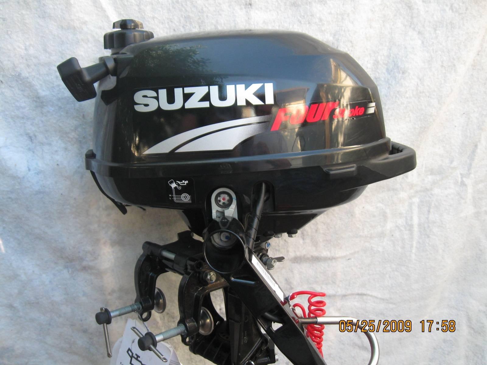 suzuki 2.5 hp 4 stroke short shaft manual start