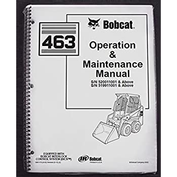 bobcat model 743 b operation manual
