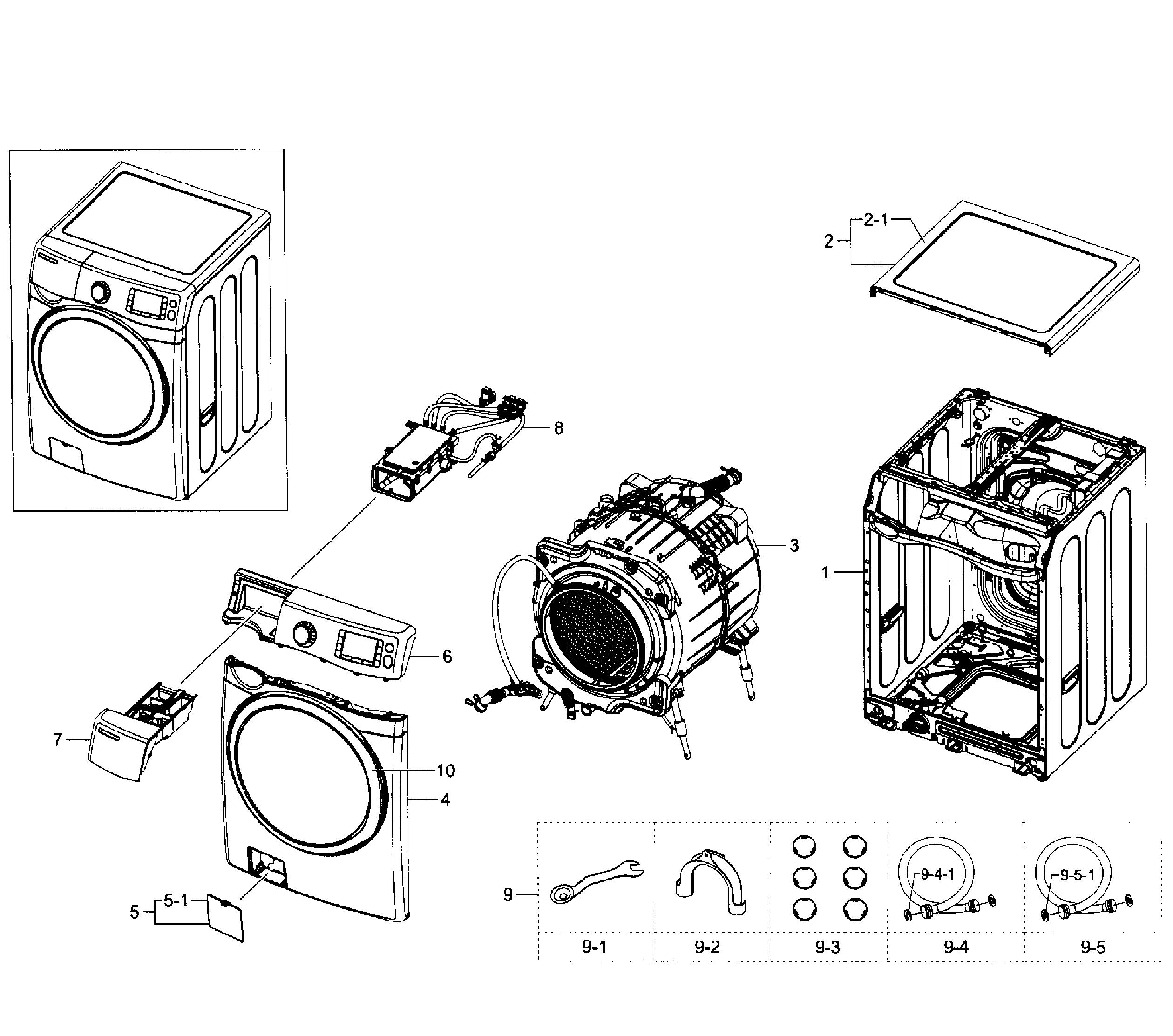 samsung washer manual wf520abp xaa 03