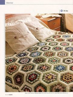modele cuverturi de pat crosetate manual