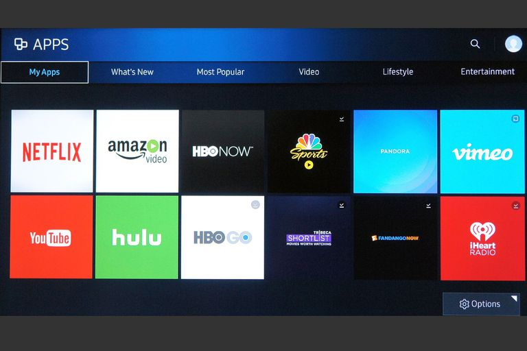 how to manually update apps on a samsung smart tv