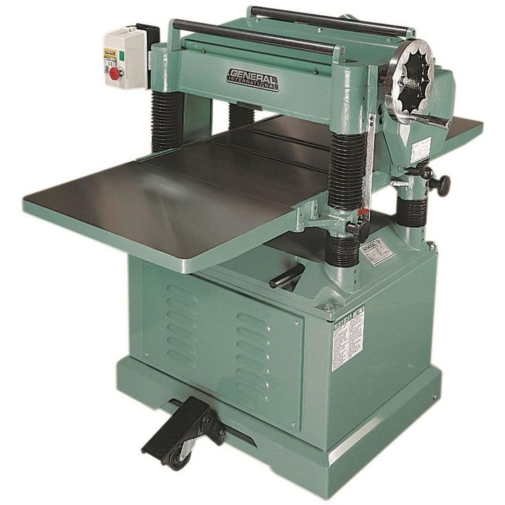 general international planer model ct-30 manual