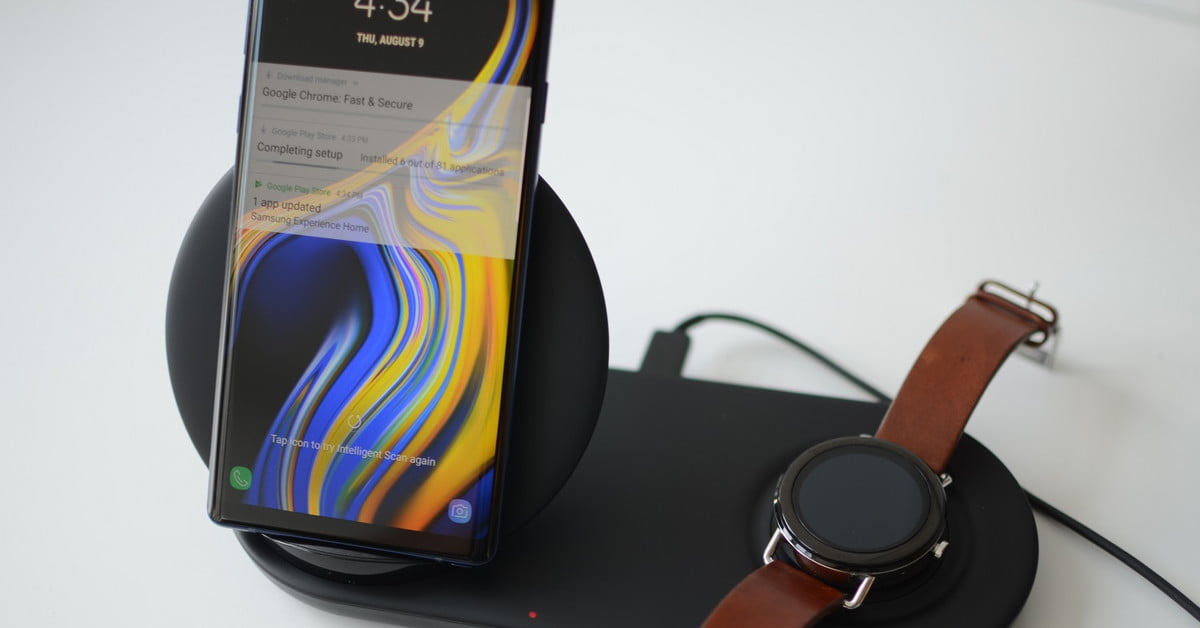 samsung wireless charger duo manual
