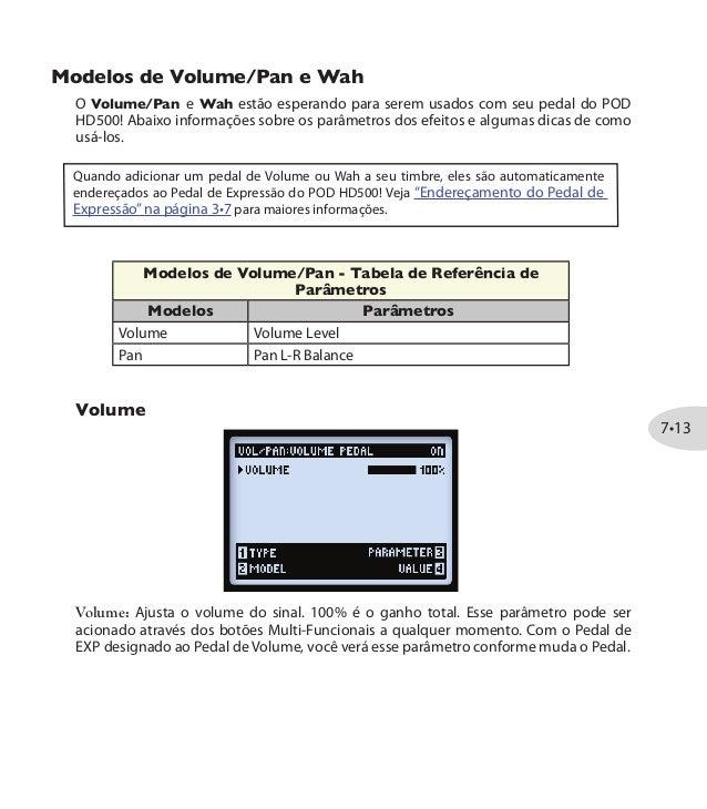 manual pod hd 500 portugues download