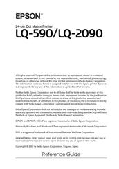epson lq 590 manual pdf