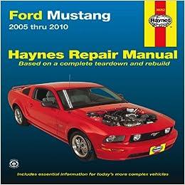 2010 ford mustang repair manual pdf