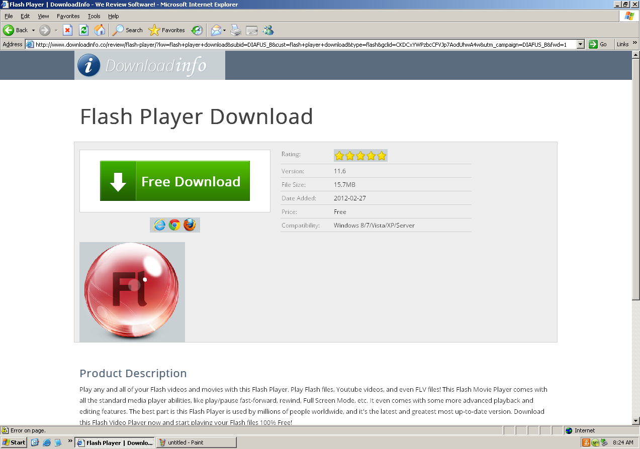 download flash player manually install