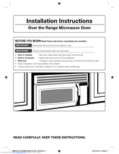 installation manual for samsung rs27fdbtnsr
