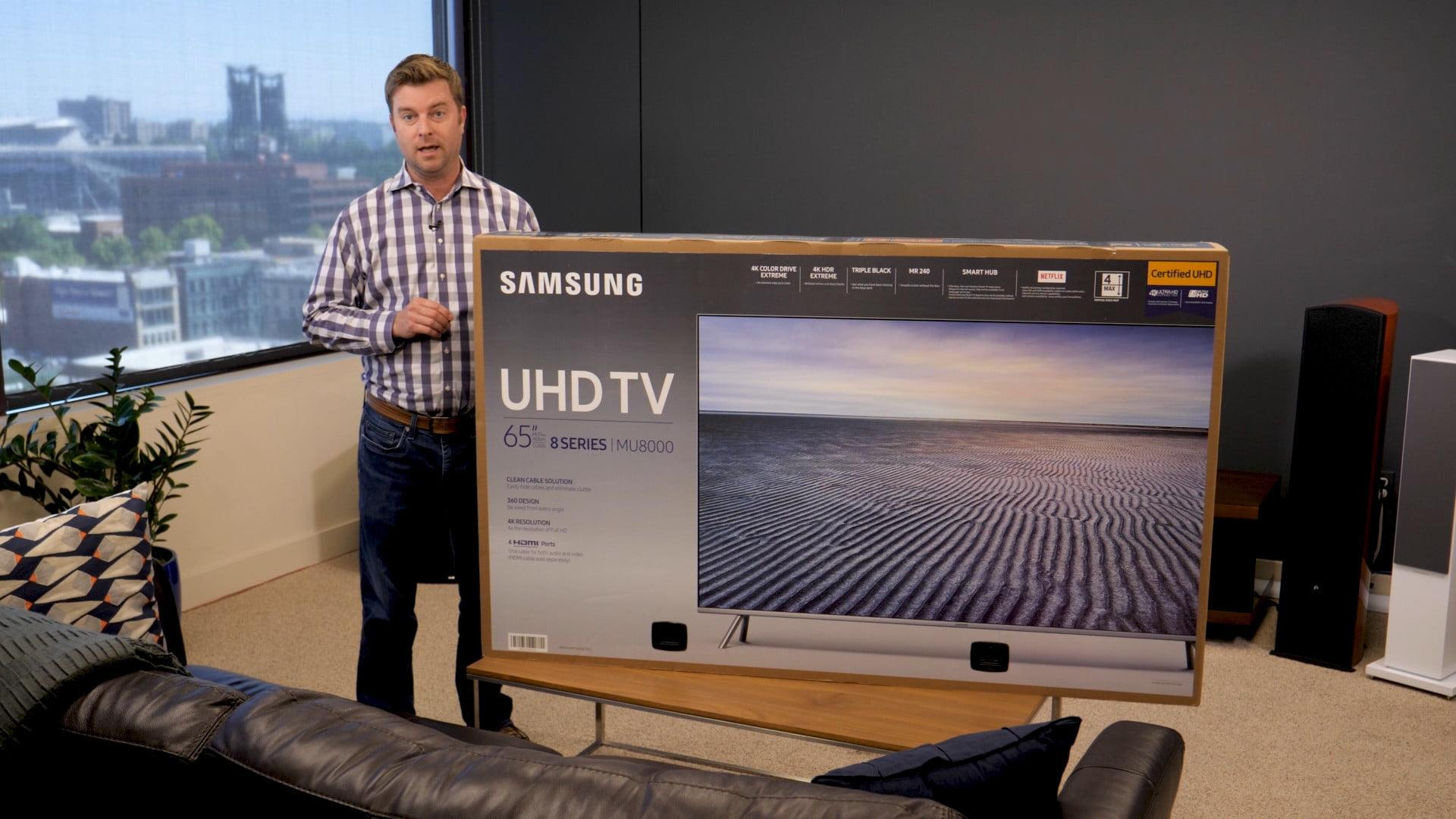 how to manual setup samsung 4k uhd tv mu8000