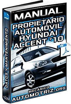 hyundai accent 2010 manual pdf