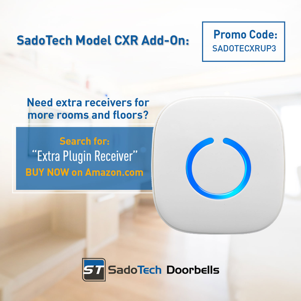 sadotech model cxr wireless doorbell manual