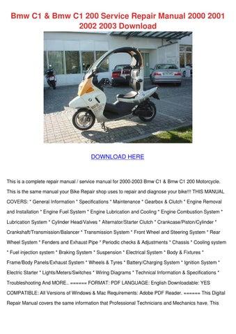 2002 bmw 745i repair manual download