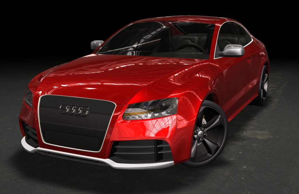 are alll audi rs models manual