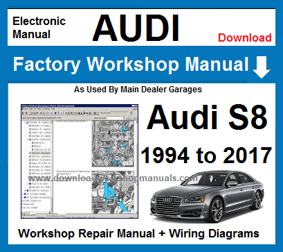 audi a8 workshop manual pdf