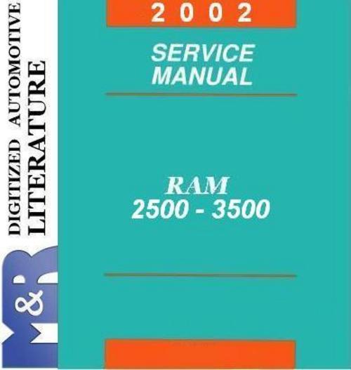 2002 dodge ram 2500 service manual download