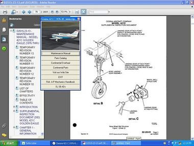 cessna 414a maintenance manual download