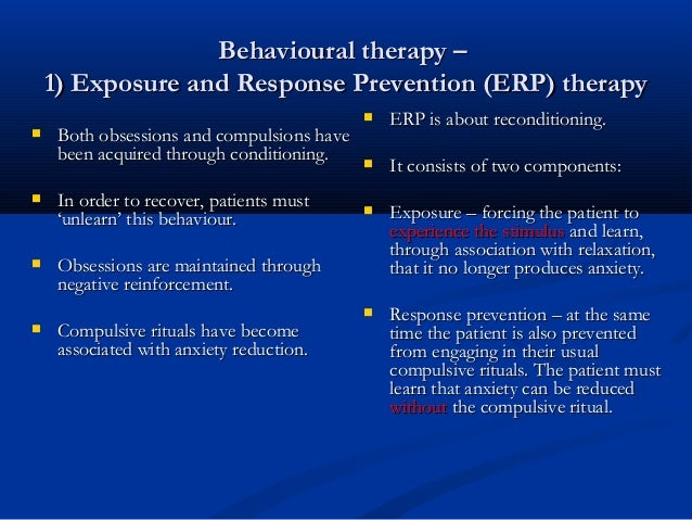 exposure and response prevention manual pdf