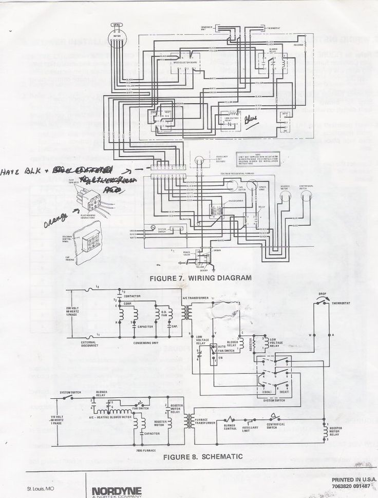coleman forced air furnace model 8995 manual