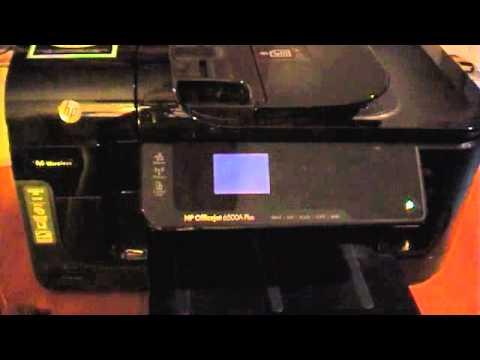 hp officejet 6500a manual service