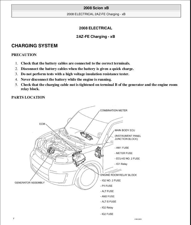 scion xa repair manual pdf