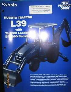 kubota l39 backhoe manual pdf free download