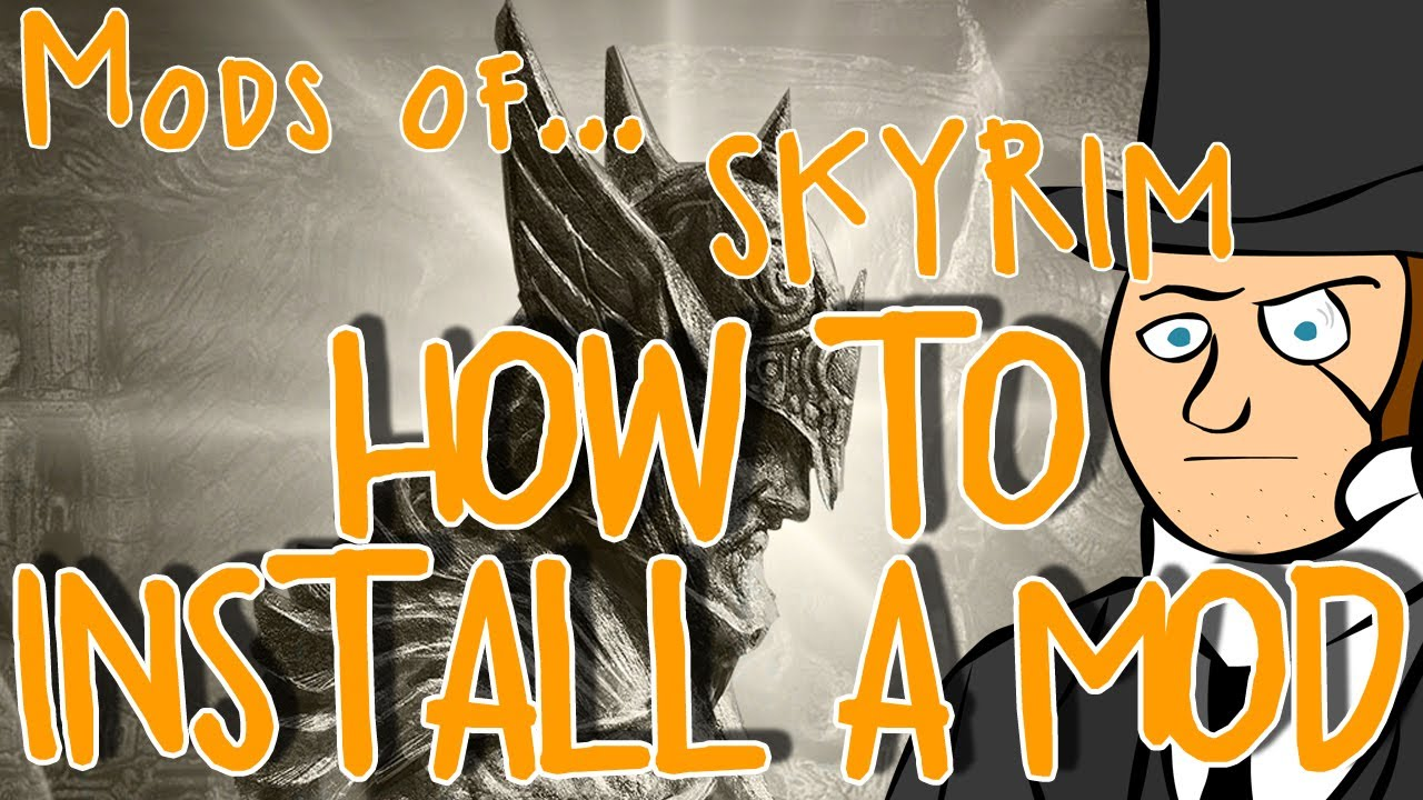 how to manually download a mod skyrim nmm