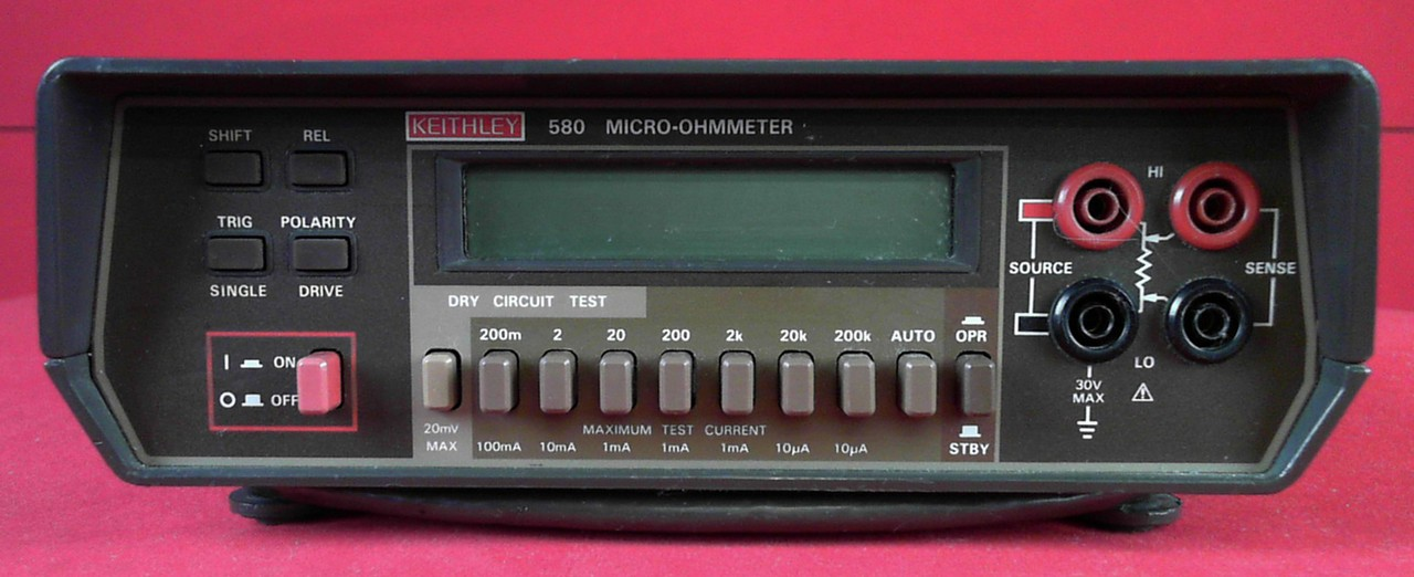 keithley model 580 micro ohmmeter manual