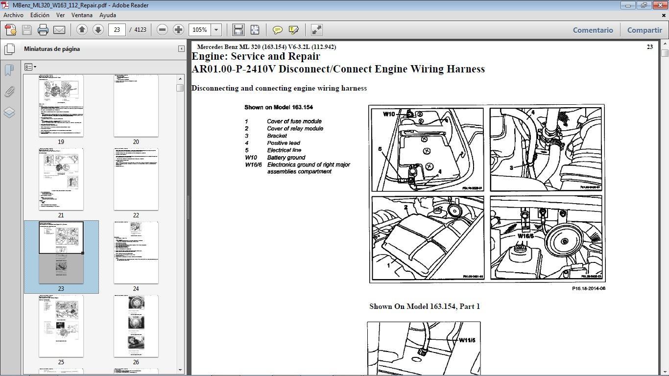 mercedes benz ml320 manual download