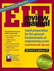 michael r lindeburg fe review manual pdf download