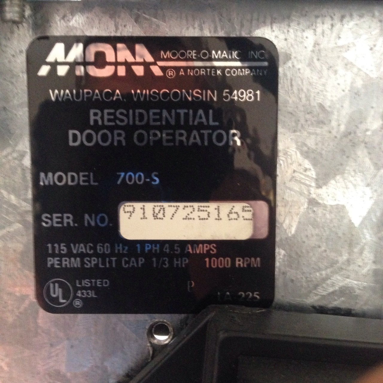moore o matic ultra lift model 800 manual