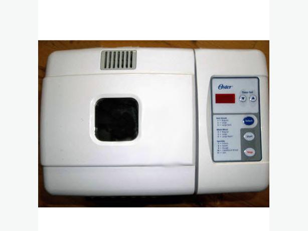 oster automatic bread maker model 5840 manual