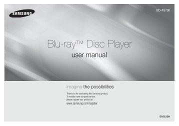 samsung bd e6300 manual english