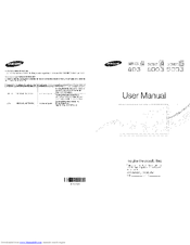 samsung led tv 5003 manual