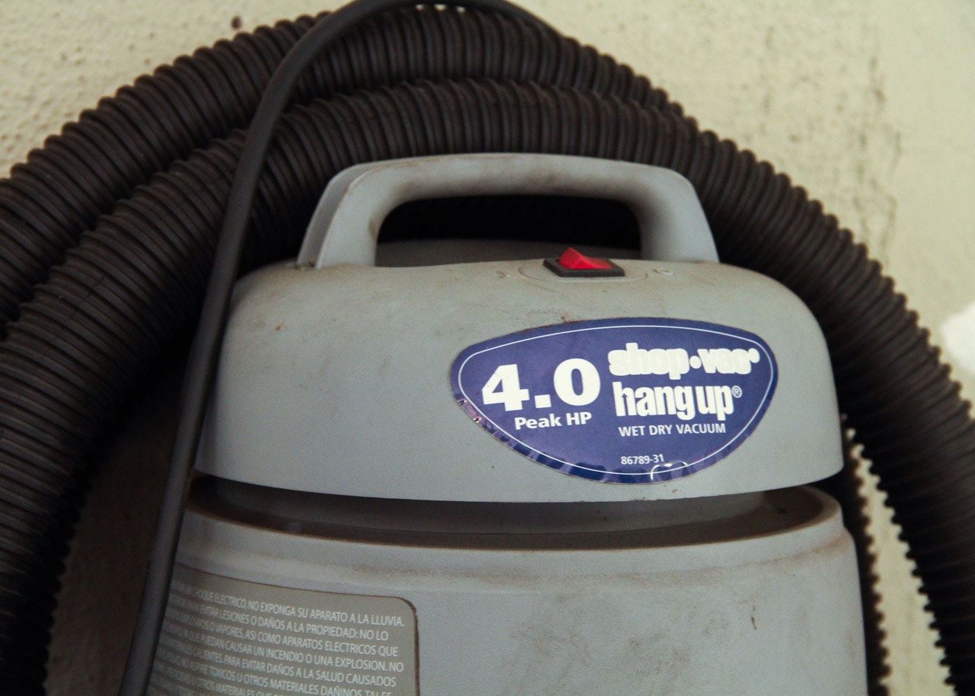 shop vac hang up 4.0 hp wet dry vacuum manual