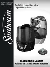 sunbeam humidifier model swm2414 manual